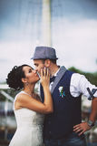 Wedding, tenderness, style Royalty Free Stock Image