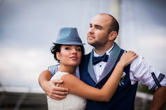 Wedding, tenderness, style Stock Images
