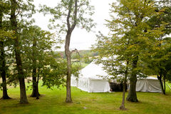 Wedding tent Royalty Free Stock Photo
