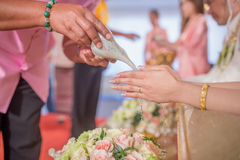 Wedding in thailand Royalty Free Stock Images