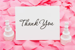 Wedding Thank You Royalty Free Stock Images