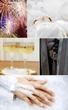 Wedding theme Royalty Free Stock Images