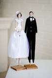 Wedding tilde toy Stock Image
