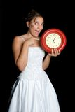 Wedding Time Bride Royalty Free Stock Photography