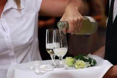 Wedding toast Royalty Free Stock Photo