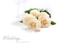 Wedding toujours la durée Photo libre de droits