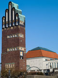 Wedding Tower in Darmstadt Stock Photos