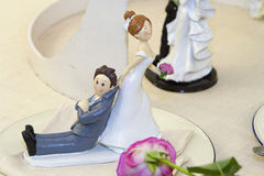 Wedding toys Stock Images