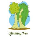 Wedding tree 01 Stock Photography