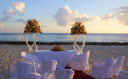 Wedding in tropic. Wedding on the Beach Stock Image