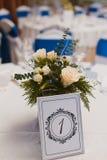 Wedding unbelegte Karte stockfotos