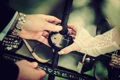Wedding union,vintage Stock Photos