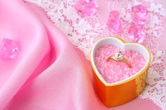 Wedding / valentine's / background Stock Images