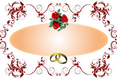 Wedding or Valentine`s day  Stock Photography