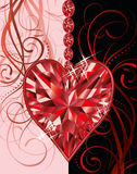 Wedding valentines day greeting card Stock Images