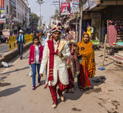 Wedding in Varanasi Stock Images