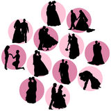 Wedding vector Stock Images