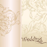 Wedding vector pastel background for design Stock Photo