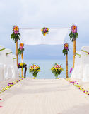 Wedding on the beach . Royalty Free Stock Photography