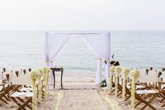 Wedding on the beach . Stock Photos