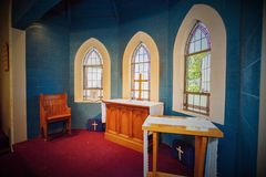 A wedding venue or chapel royalty free stock images
