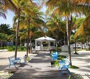 Wedding veranda in hotel. Melia Cayo Guillermo. Cuba Royalty Free Stock Photography