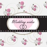 Wedding video background Royalty Free Stock Photos