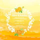 Wedding Vintage Invitation Card Stock Images
