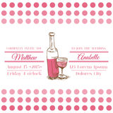 Wedding Vintage Invitation Card Royalty Free Stock Photo