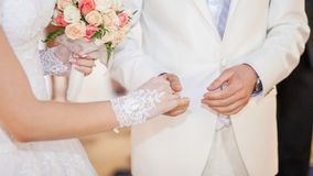 Wedding vow Royalty Free Stock Image