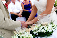 Wedding vows Stock Photography