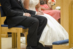 Wedding vows Royalty Free Stock Photos