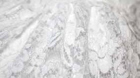 Wedding white lace background Royalty Free Stock Photos
