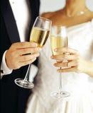 Wedding Wine royalty free stock image