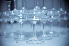 Wedding wine glasses Royalty Free Stock Photo