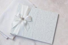Wedding wish book Royalty Free Stock Image