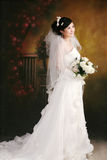 Wedding woman portrait Royalty Free Stock Image
