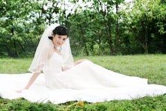 Wedding woman portrait Royalty Free Stock Photos