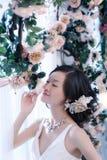 Wedding woman portrait Royalty Free Stock Image