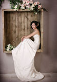 Wedding woman portrait Stock Photo
