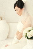 Wedding woman portrait Royalty Free Stock Photography