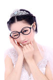 Wedding woman portrait Royalty Free Stock Photo