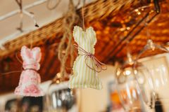 Wedding wooden decoration gift present Stock Photos