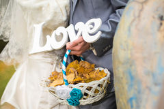 Wedding words love Royalty Free Stock Images