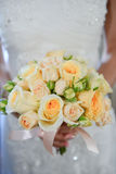 Wedding yellow  flowers Royalty Free Stock Images