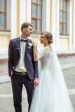 Wedding young couple Royalty Free Stock Images