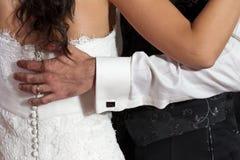 Wedding zuerst Tanz lizenzfreie stockbilder