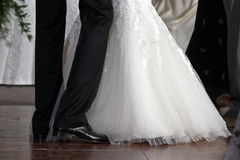 Wedding zuerst Tanz lizenzfreies stockbild