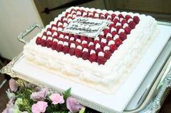 Weddingcake Royaltyfri Foto