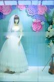 Weddingdress projekta przedstawienia szafa Obraz Stock